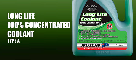 Long Life Concentrated Coolant